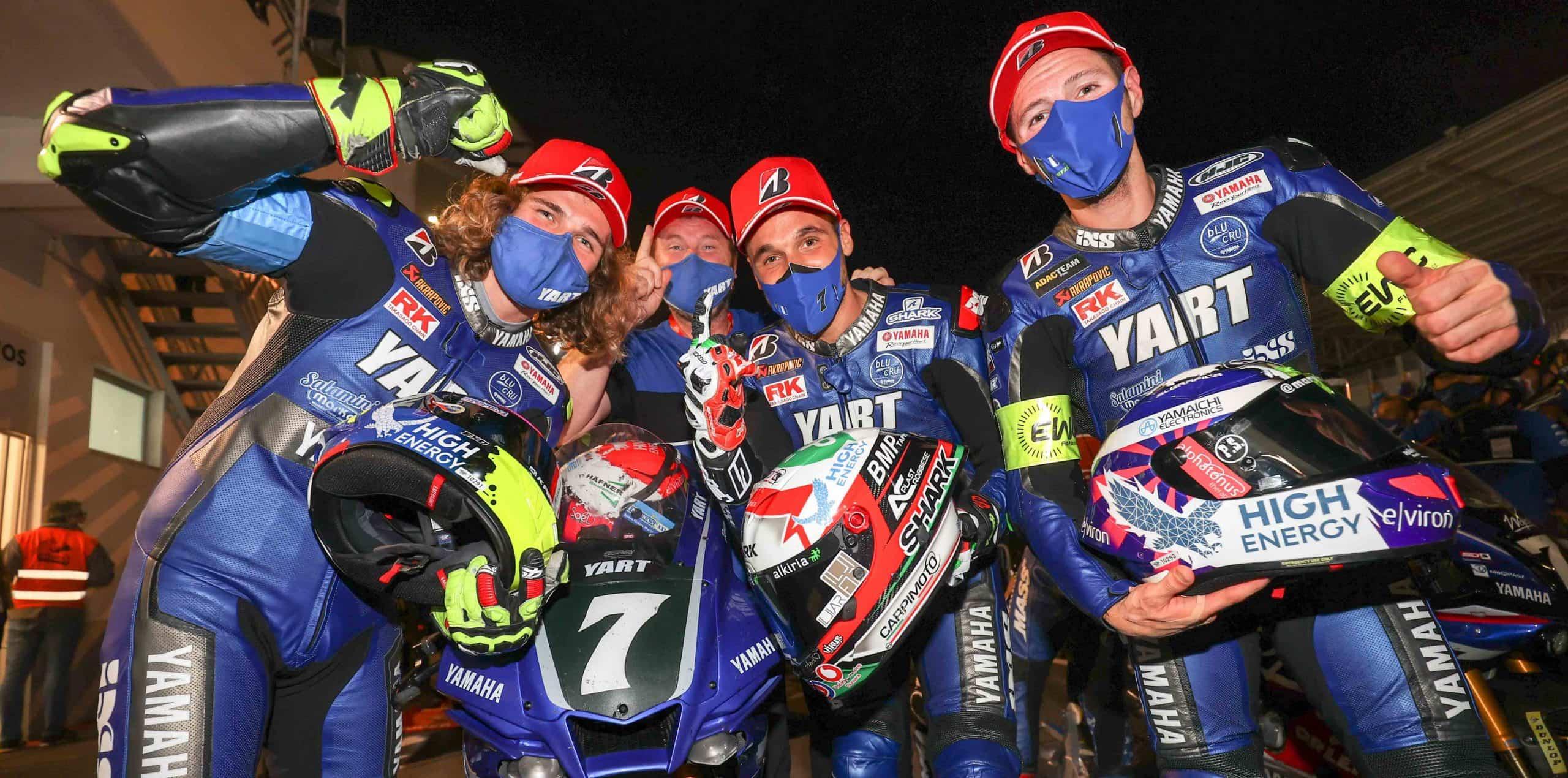 世界耐久選手権(EWC) エストリル12時間耐久ロードレース YART Yamahaが優勝