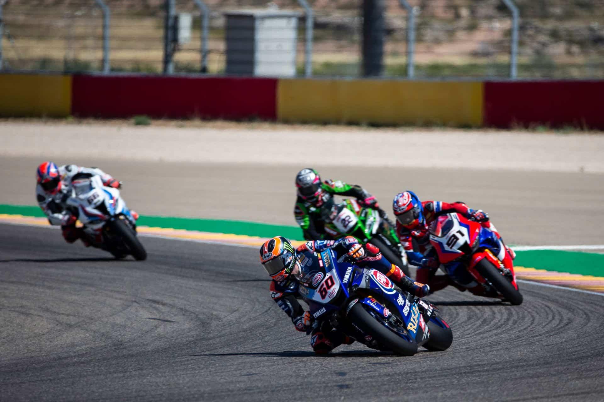 スーパーバイク世界選手権 テルエル戦レース1 4位ファン・デル・マーク「最終的に4位は悪くはない」