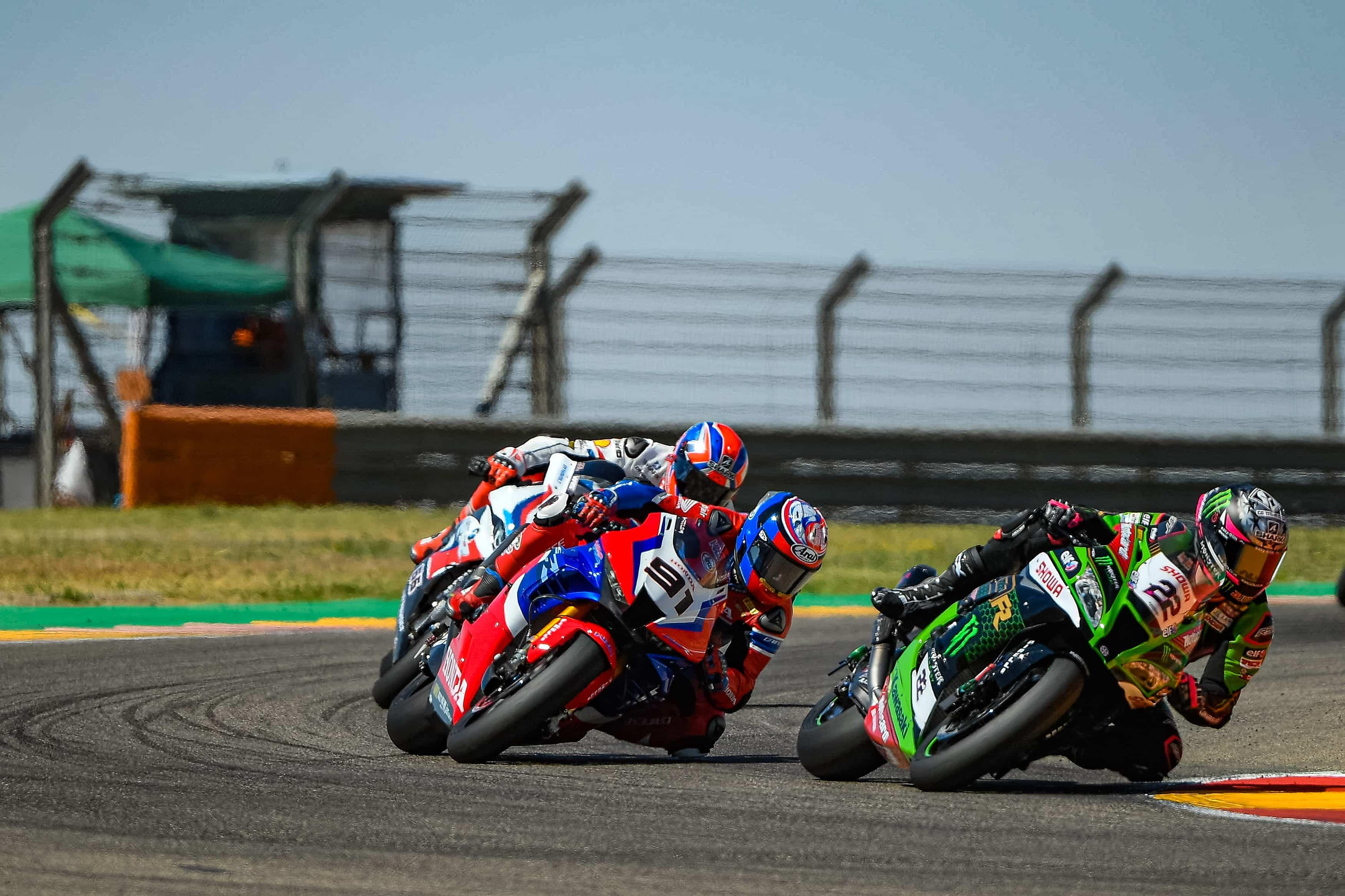 スーパーバイク世界選手権 テルエル戦レース1 7位レオン・ハスラム「トップ5での完走を目指していた」