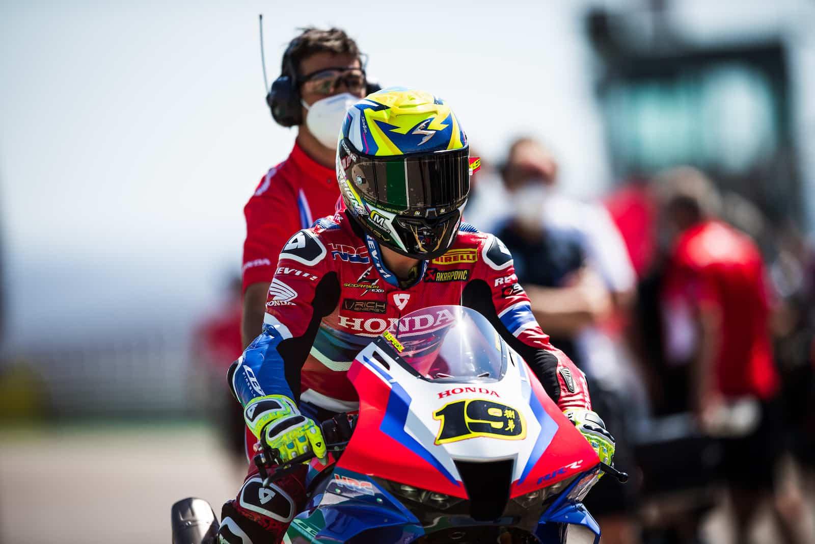 スーパーバイク世界選手権(SBK)マニクール戦 アルヴァロ・バウティスタ「レインコンディションでの戦闘力は未知数」