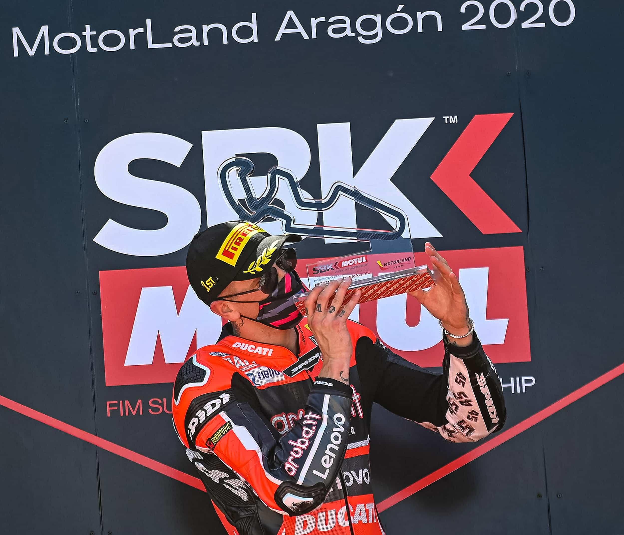 ピレリ(Pirelli)レースレビュー アラゴン戦レース1でレディングとデイビスがDucatiワン・ツーを達成