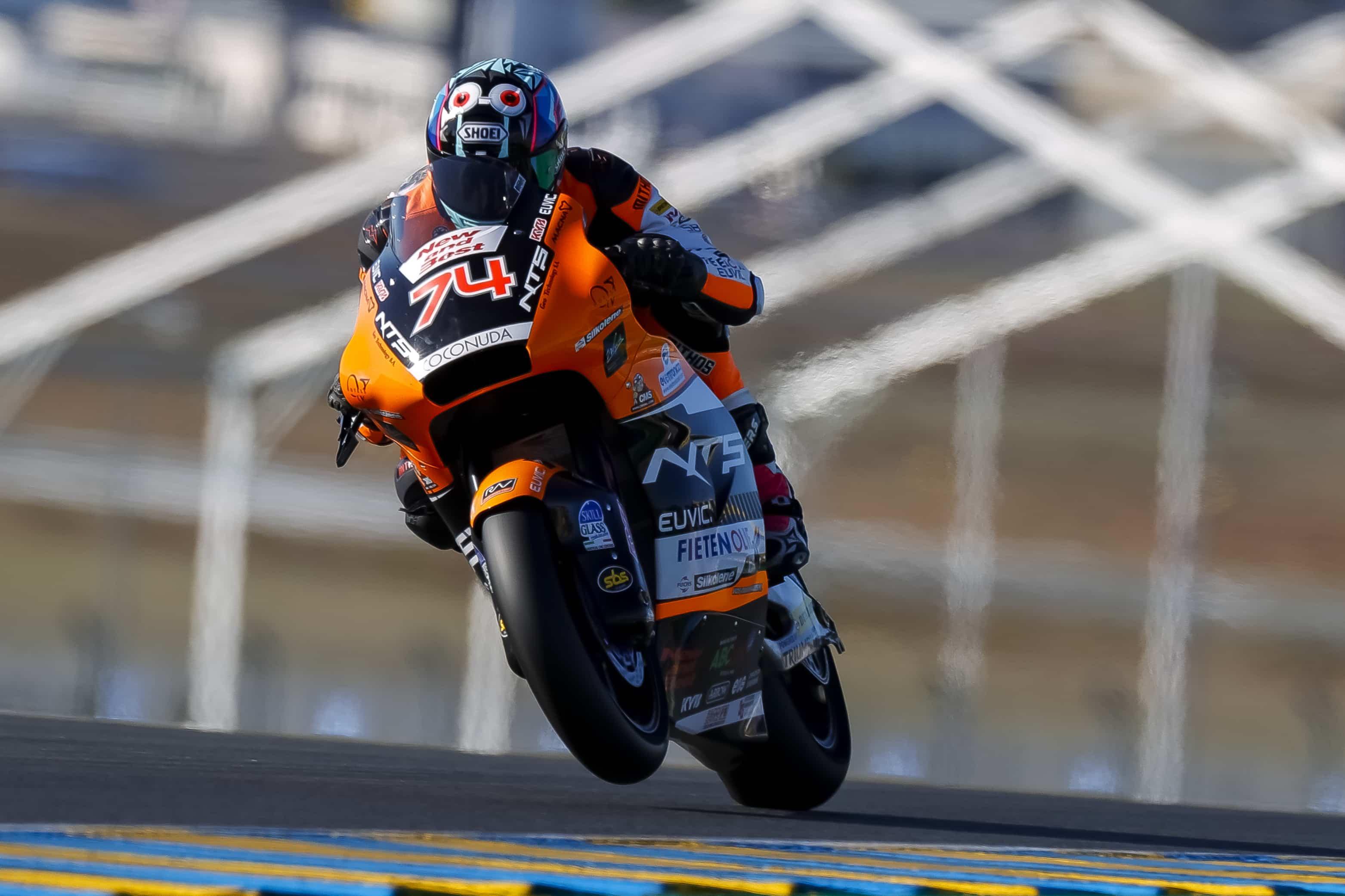フランスGP NTS RW Racing GP 公式練習1、公式練習2レポート