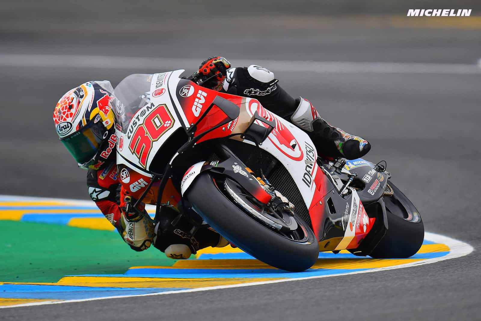 フランスGP 予選13位中上 貴晶「バイクのポテンシャルは高い」