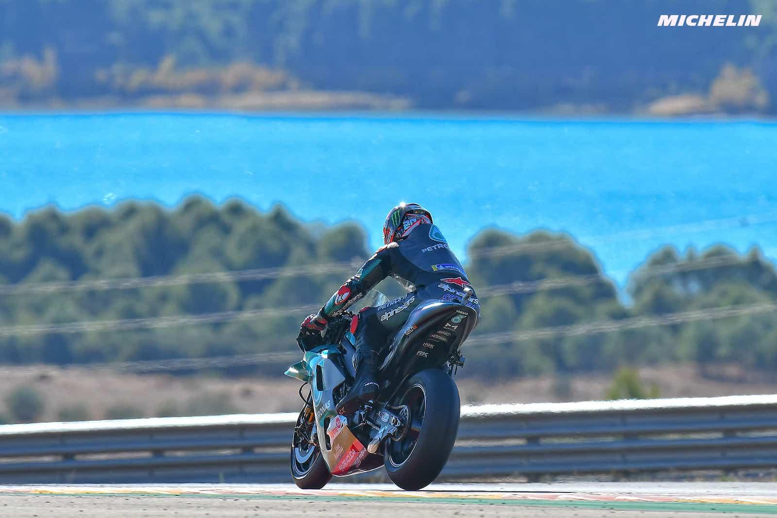 テルエルGP 予選6位 ファビオ・クアルタラロ「レースペースの改善はしっかり出来た」