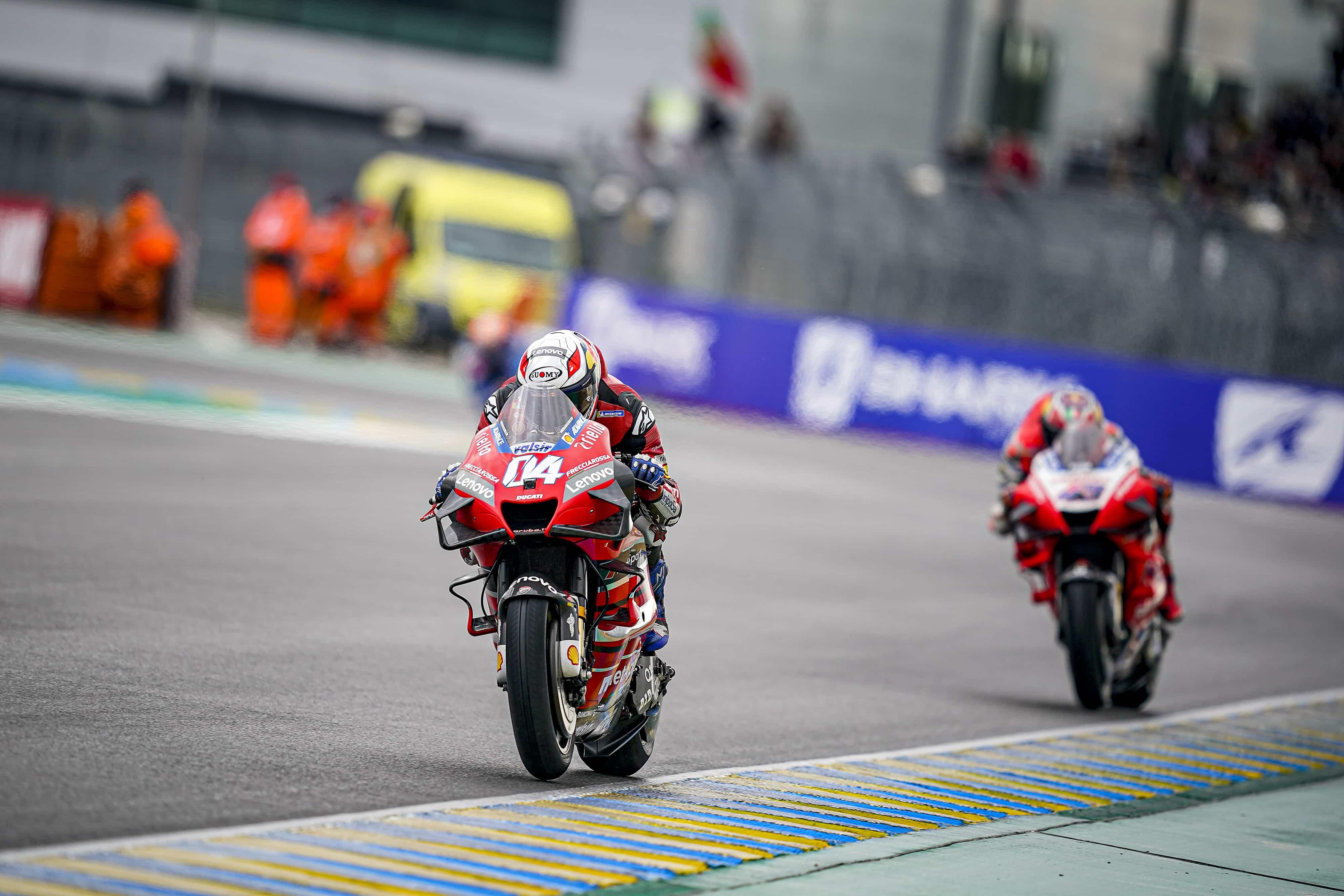 フランスGP 4位アンドレア・ドヴィツィオーゾ「タイヤ選択を間違えたかもしれない」