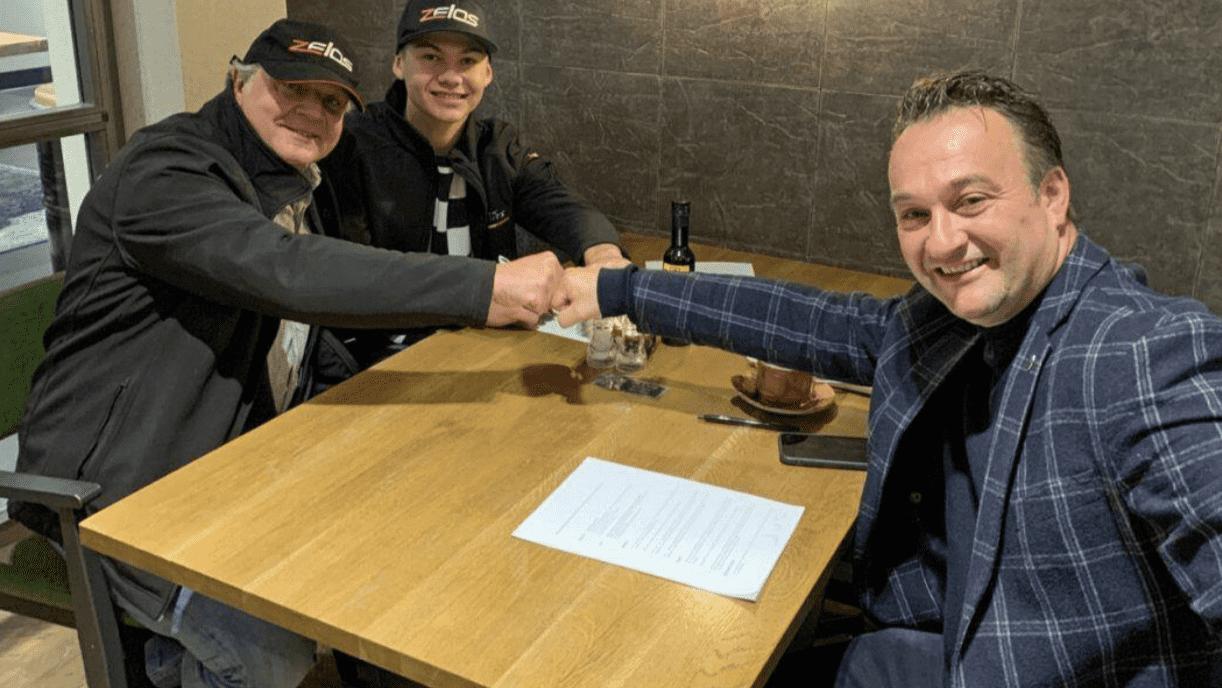 NTS RW Racing GPがバリー・バルタスと2021年からの2年契約を締結