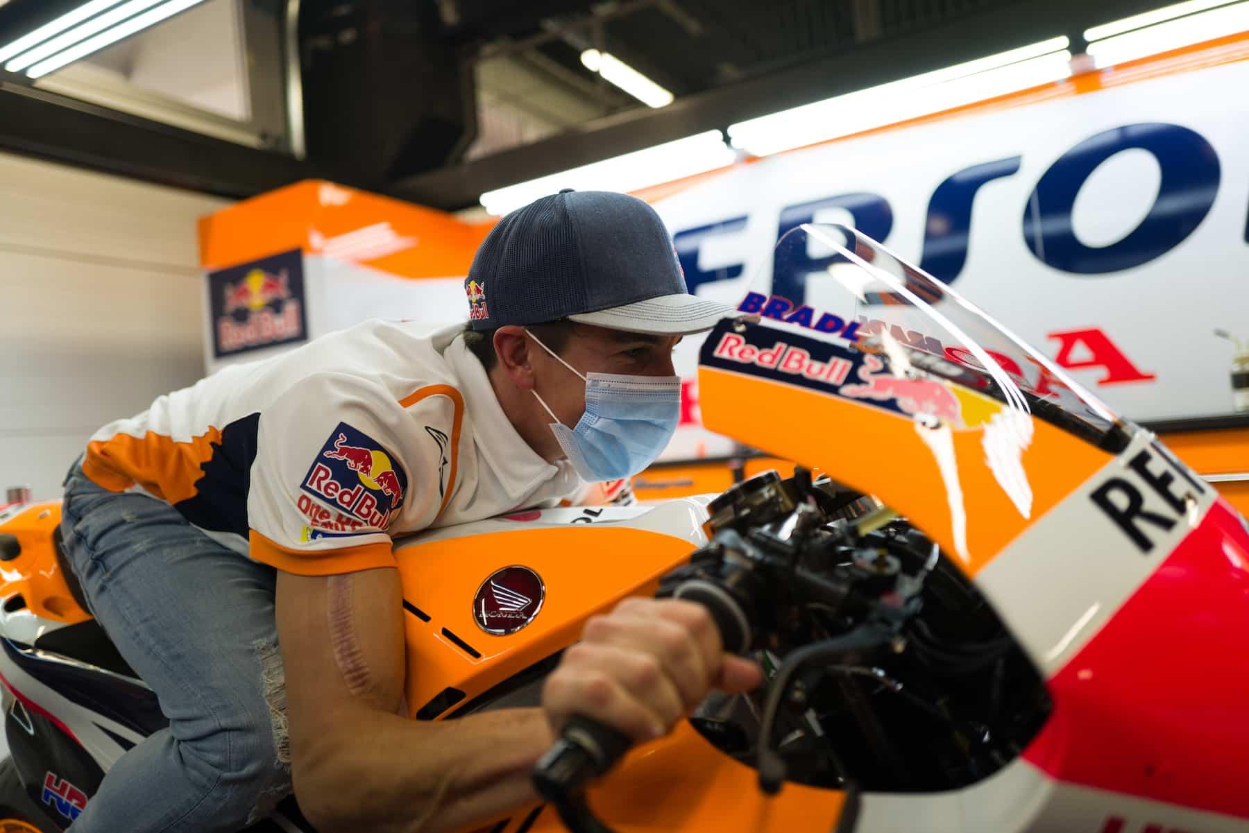 マルク・マルケス「ポルティマオはMotoGPバイクで走ってみたい」
