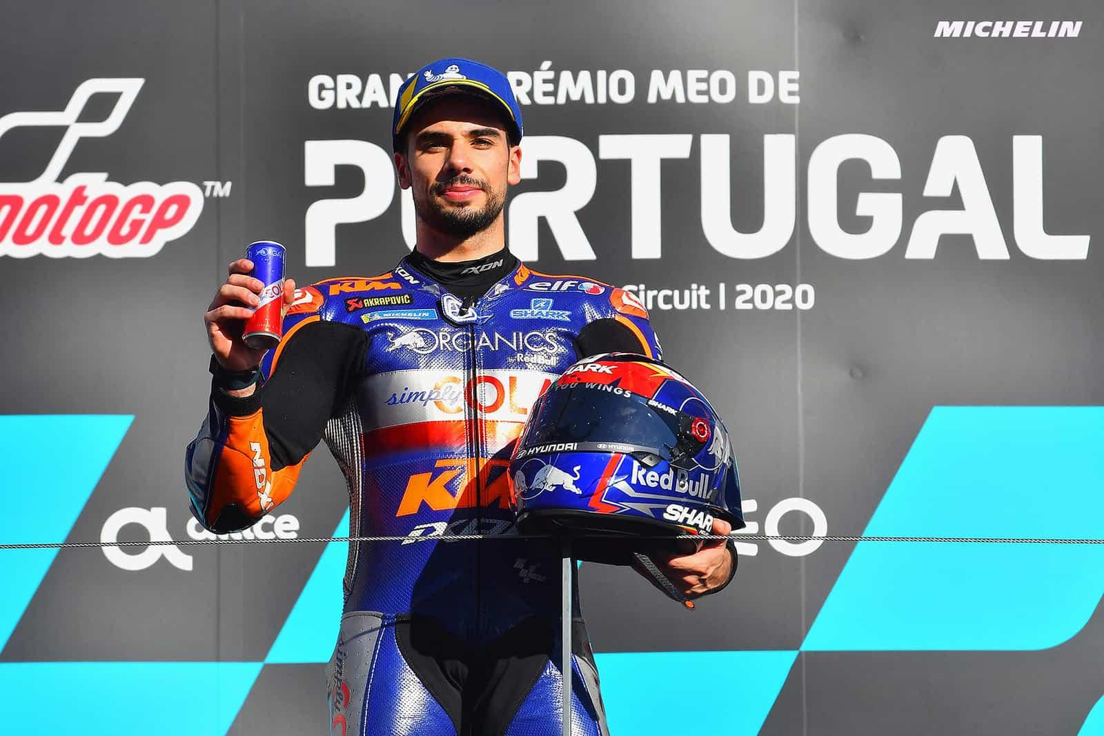 ポルトガルGP 優勝ミゲル・オリヴェイラ「最後まで自分の走りをコントロールしながらの優勝だった」
