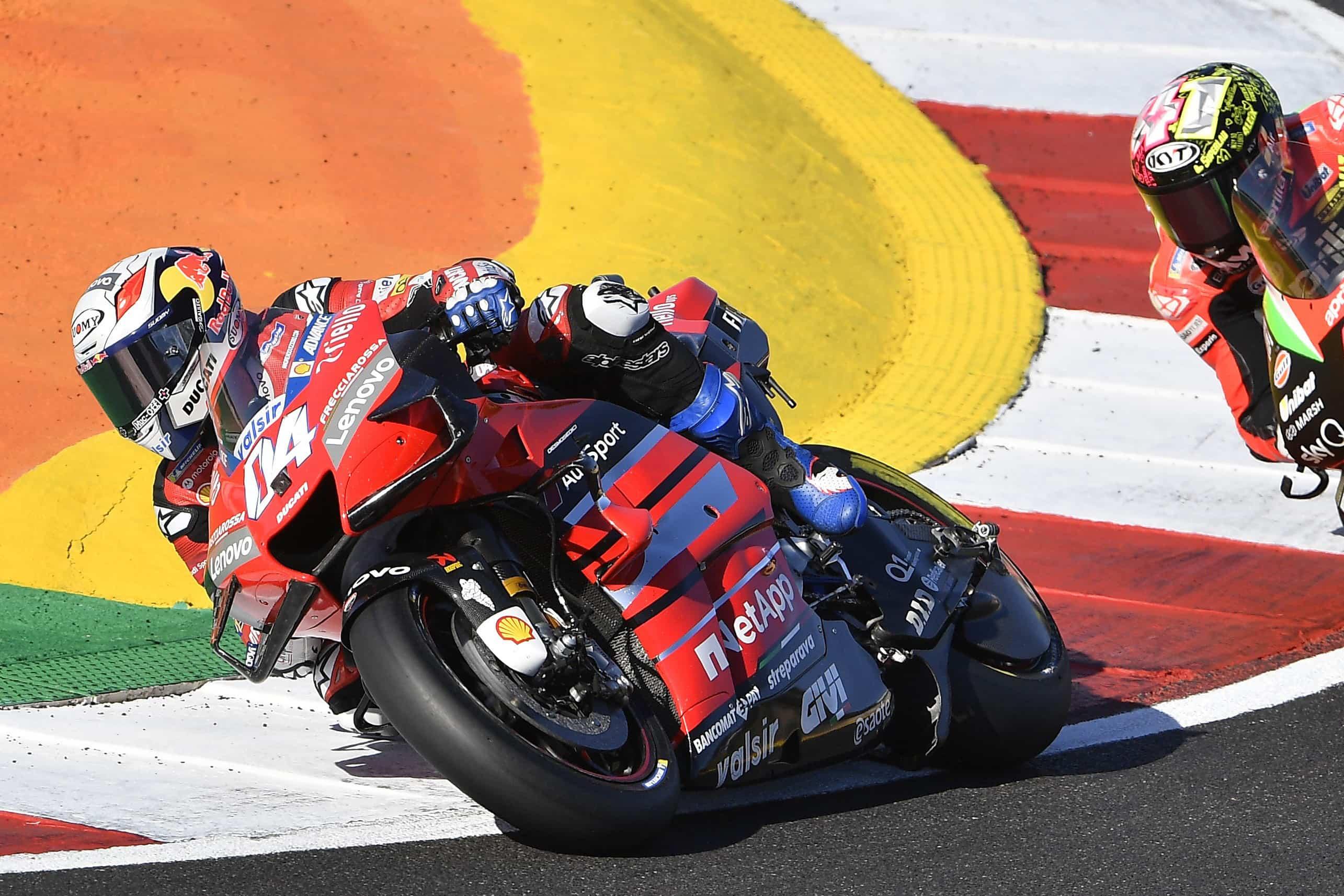 ポルトガルGP 6位アンドレア・ドヴィツィオーゾ「Ducatiと素晴らしい結果を残すことが出来た」