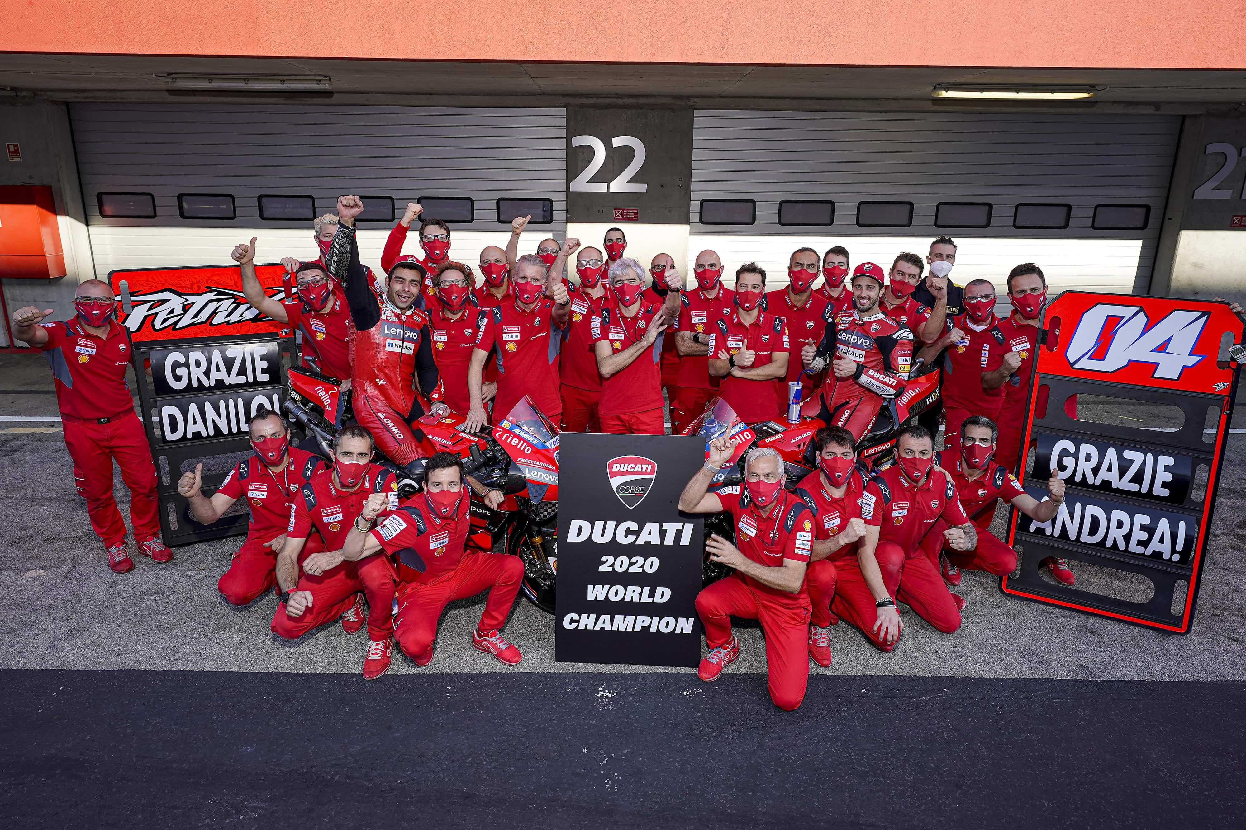 Ducati 最高峰クラス2度目となるコンストラクターズ・タイトルを獲得
