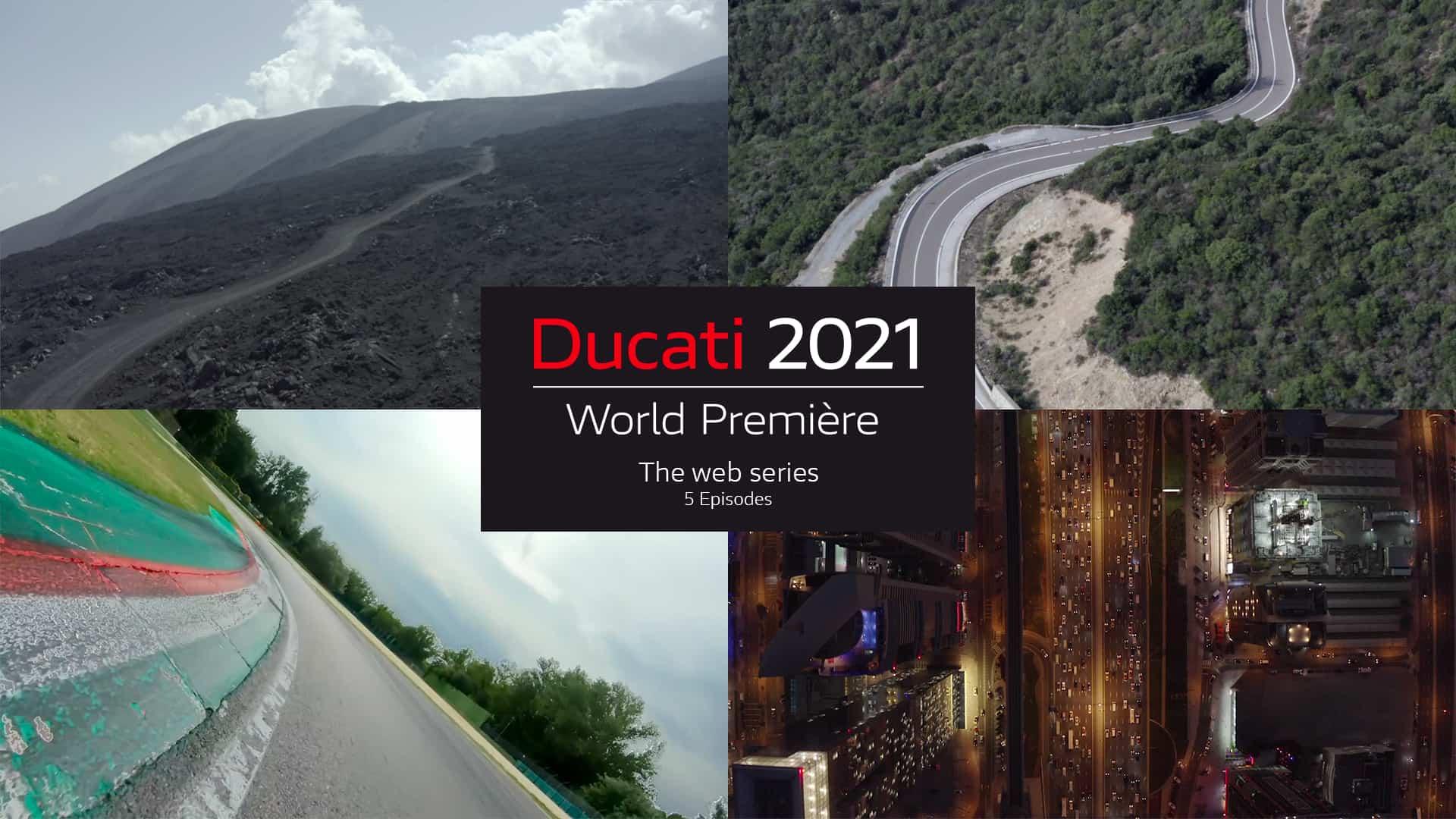 Ducati  ドゥカティ・ワールド・プレミア2021を5回に分けて開催、初回エピソードでは新型ムルティストラーダV4を発表