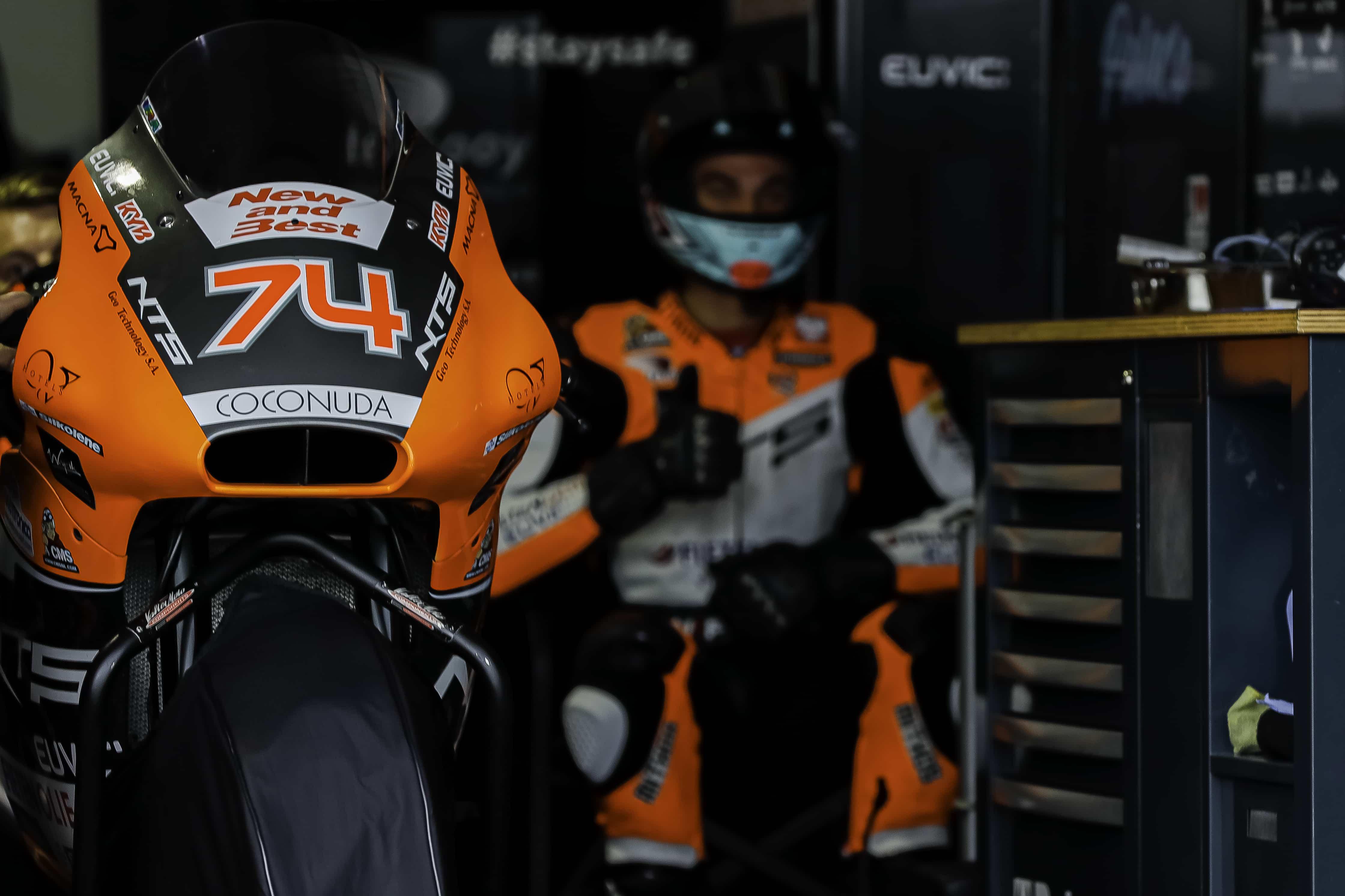 バレンシアGP NTS RW Racing GP 公式練習1、公式練習2レポート