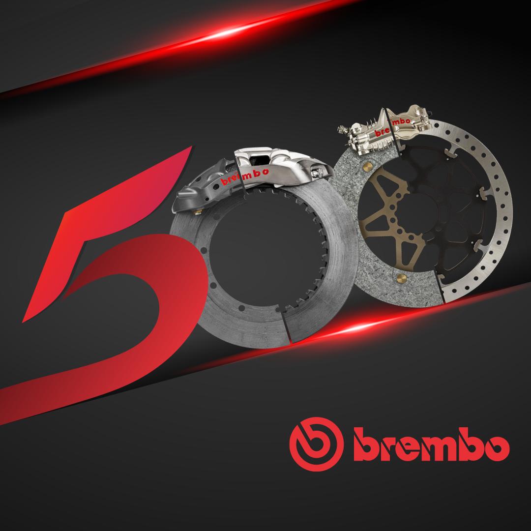 Brembo(ブレンボ) 2輪、4輪を通じて通算500回目となる世界タイトルを獲得