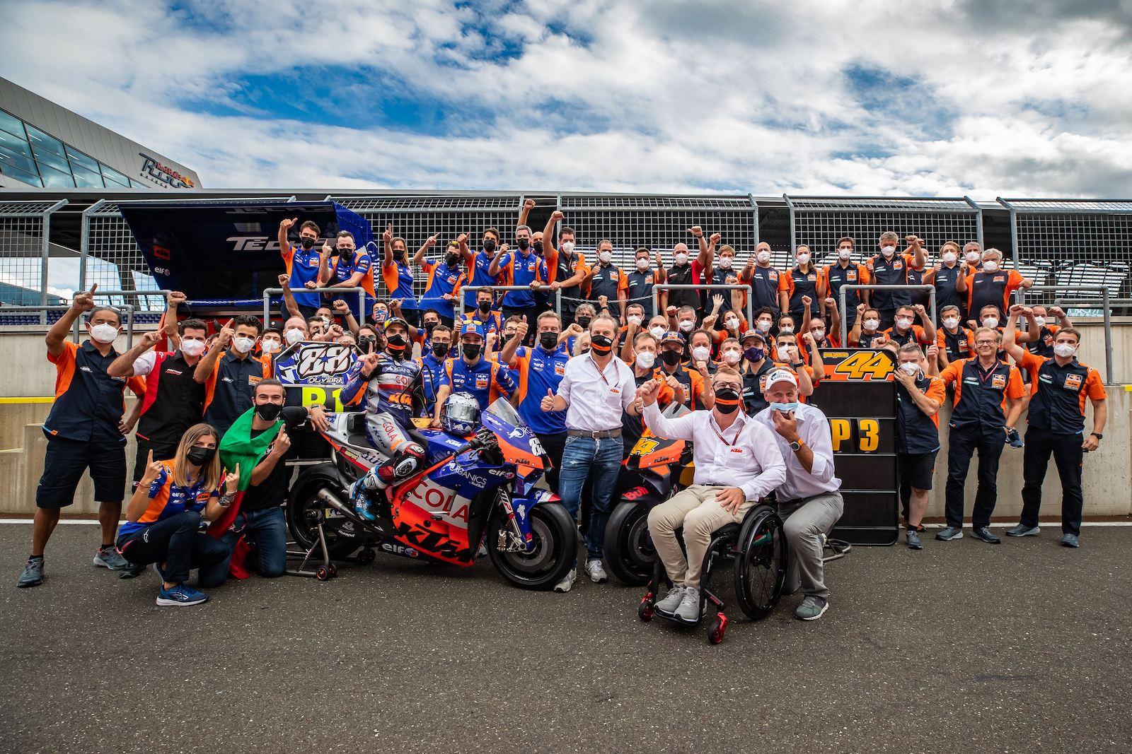 KTM ピット・バイラー「将来的にVR46にKTMのバイクを供給することも考えている」