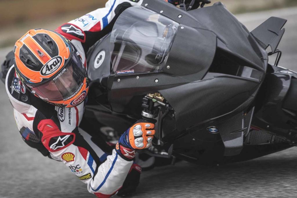 マイケル・ファン・デル・マーク フランスでM1000RRのシェイクダウンを実施