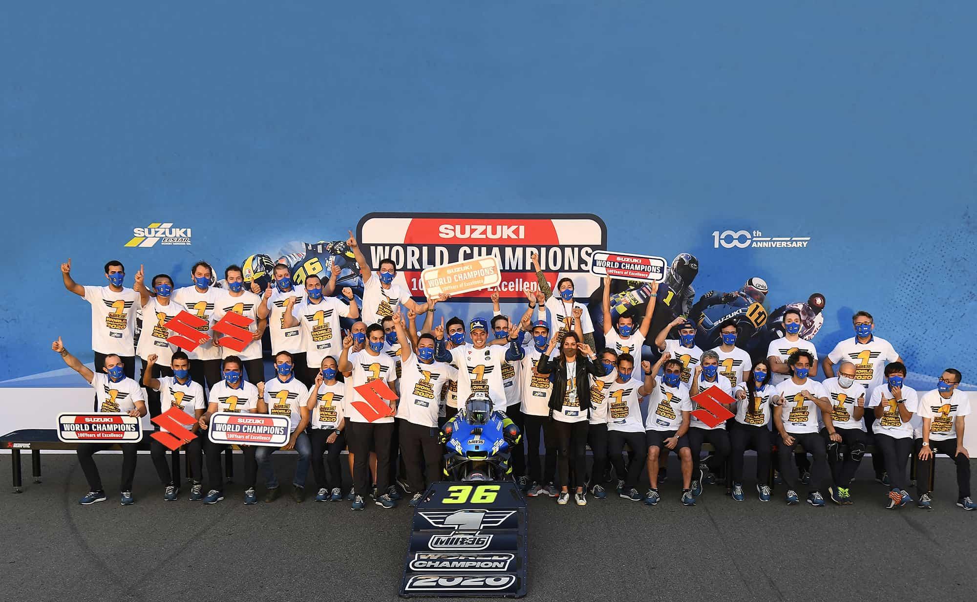 スズキ 2020 MotoGP ジョアン・ミル チャンピオングッズを、特設サイト及びスズキ二輪車正規取扱店にて予約販売