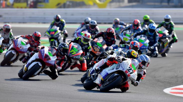 MotoEワールドカップの暫定スケジュールが発表 年間レース数は7戦