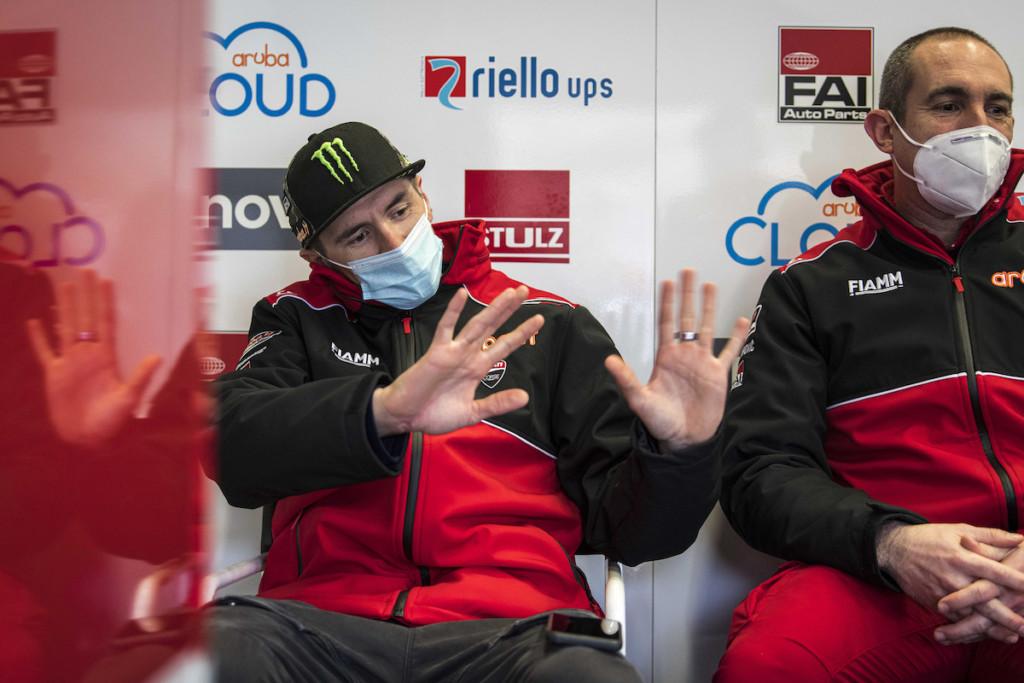 WSBKヘレステストは雨のためキャンセル スコット・レディング、リナルディ両名は出走せず