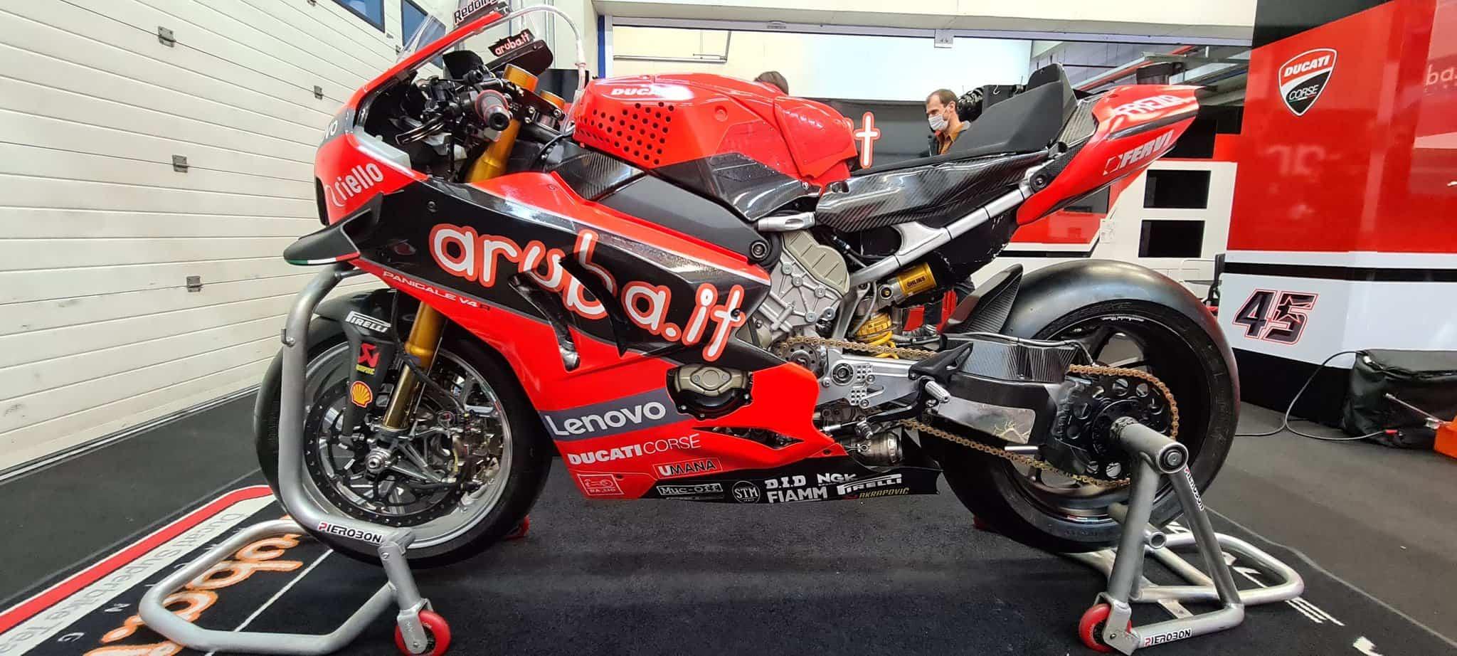 スーパーバイク世界選手権ヘレステスト 初日は雨のため走行出来ず