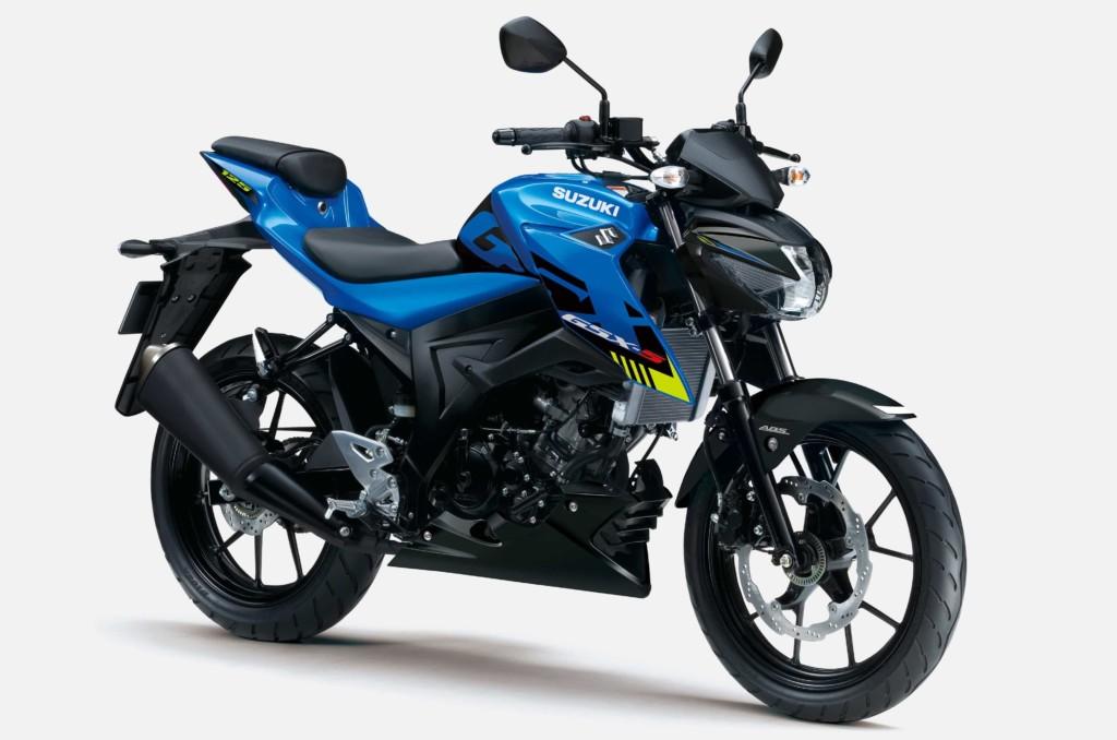 スズキ GSX-S125 ABS、GSX-R125 ABSのカラーリングを変更して発売