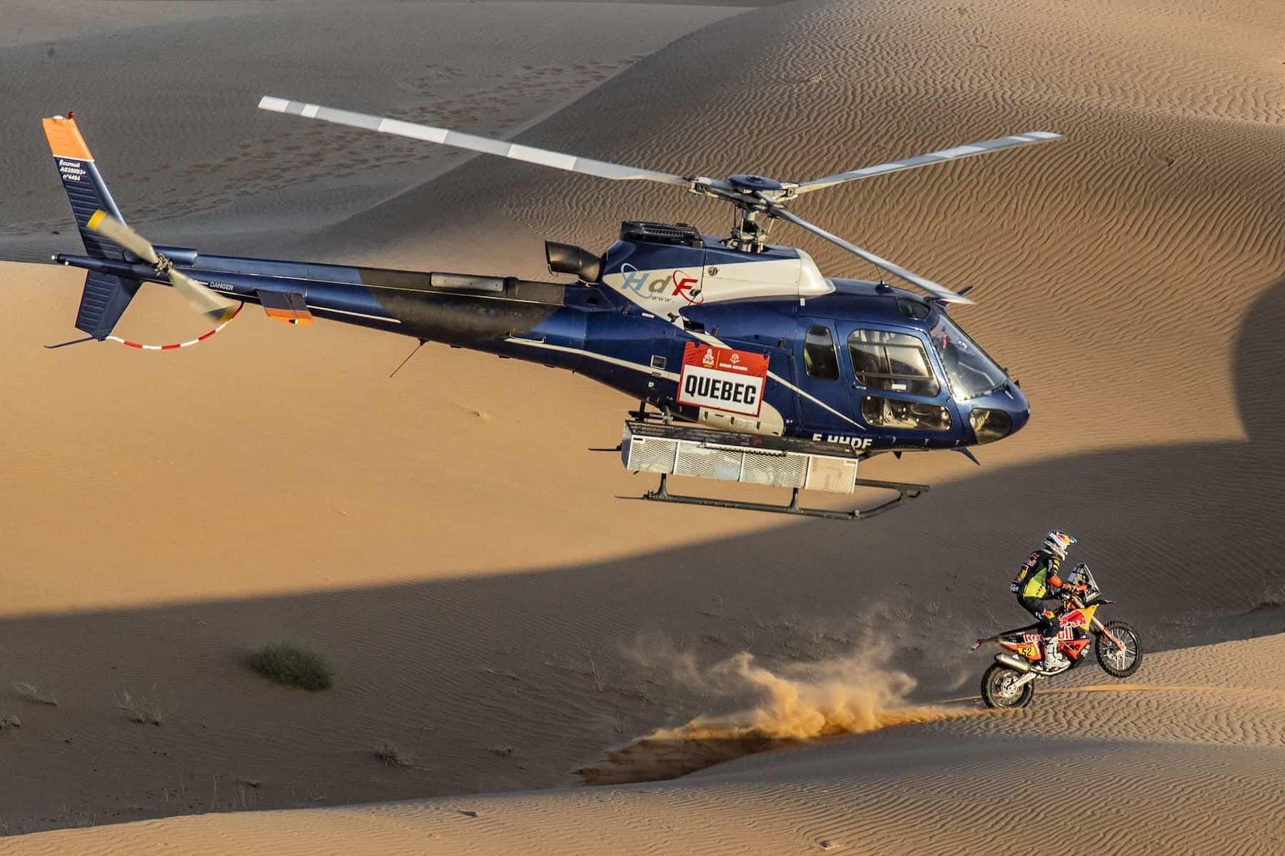 ダカール・ラリー2021 ステージ3 3位マティアス・ウォークナー「ステージの80%は全開走行だった」