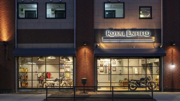 Royal Enfield(ロイヤルエンフィールド)日本初となるショールームを東京都杉並区にオープン