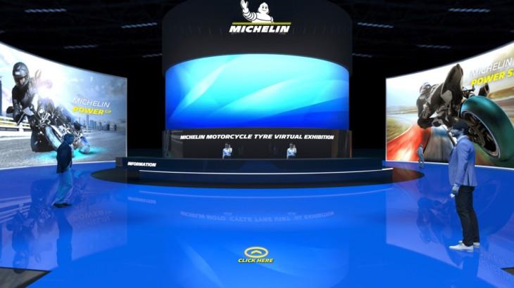 ミシュラン 28日より初の2輪用タイヤのバーチャル展示会を開催