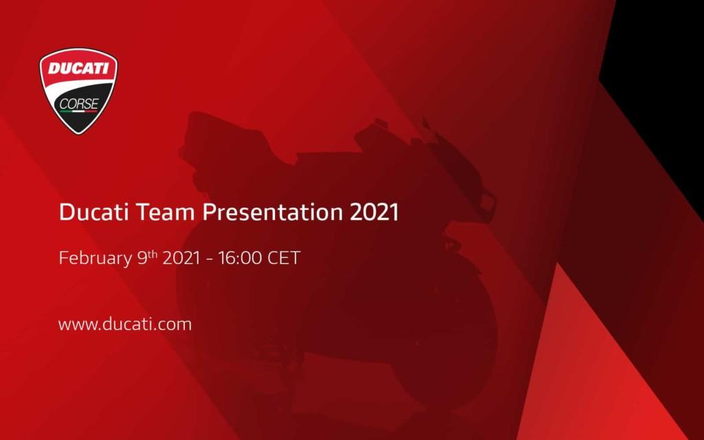 Ducati MotoGP参戦体制に関するプレゼンテーションを2月9日にオンライン開催