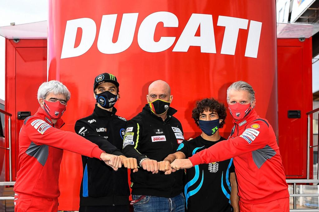 バレンティーノ・ロッシ「ルカ、バスティアニーニは2021年に競争力を発揮する」