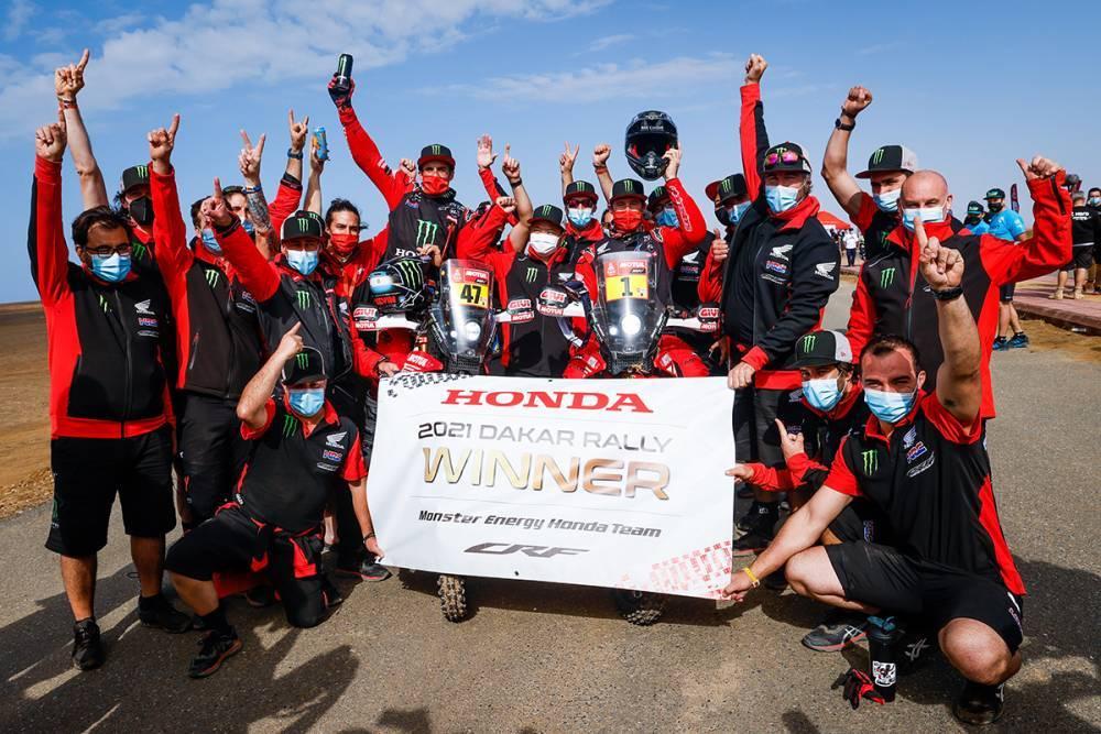 ダカール・ラリー2021 ステージ12でブラベックが優勝、総合優勝はホンダのケヴィン・ベナバイズ