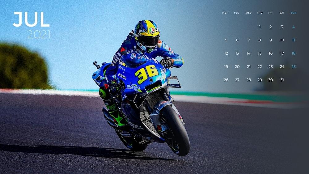 Team SUZUKI ECSTAR(チーム・スズキ・エクスター)2021年のカレンダーデータを公開