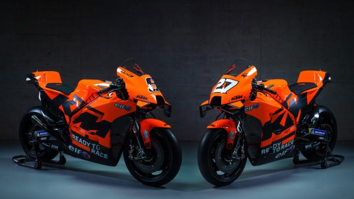 テック3 KTMファクトリーレーシング 2021年型RC16ギャラリー