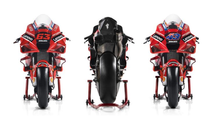 Ducati Lenovoチーム 2021年のチーム体制を発表