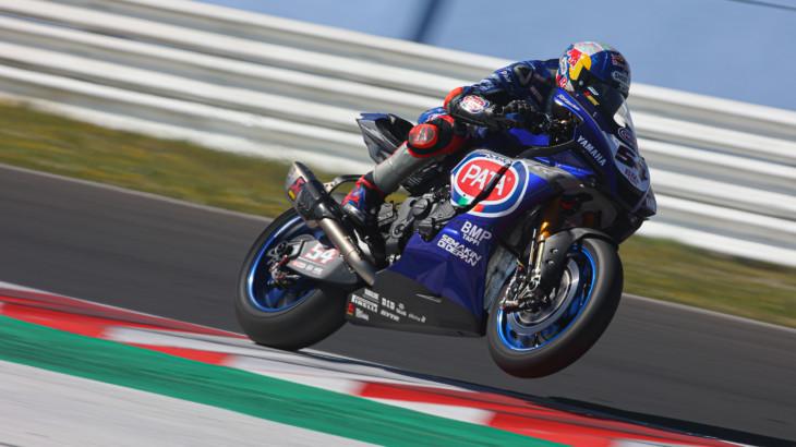 FIM スーパーバイク世界選手権(SBK)ミサノテスト 初日トップタイムはラズガトリオグル