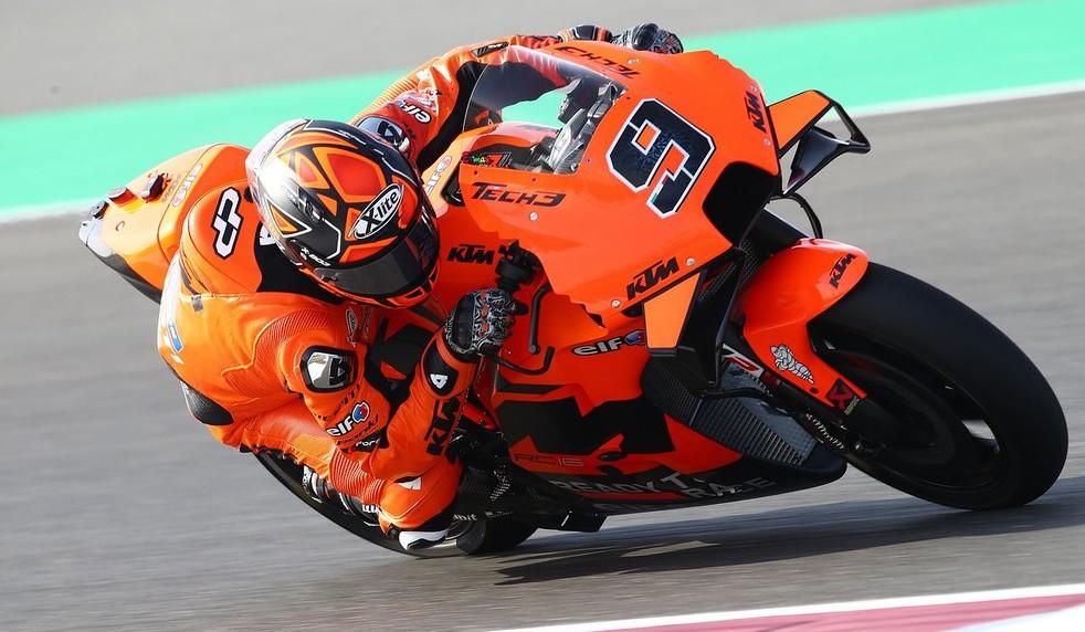 ダニーロ・ペトルッチ「KTMのバイクはブレーキングの安定感が素晴らしい」