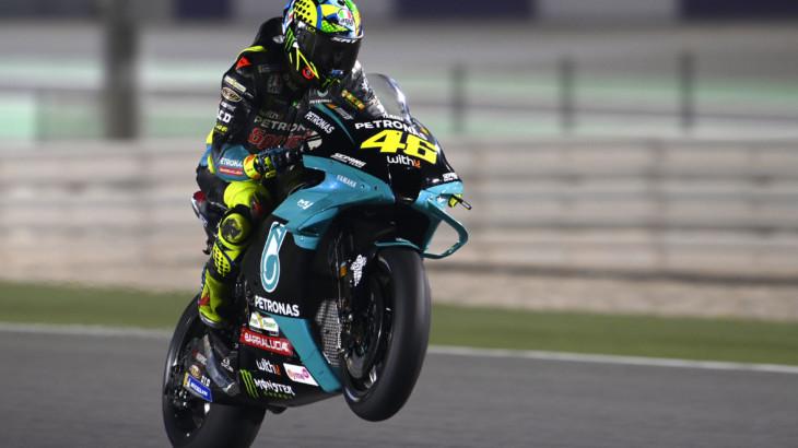 バレンティーノ・ロッシ「バイクのリアグリップに苦戦している」