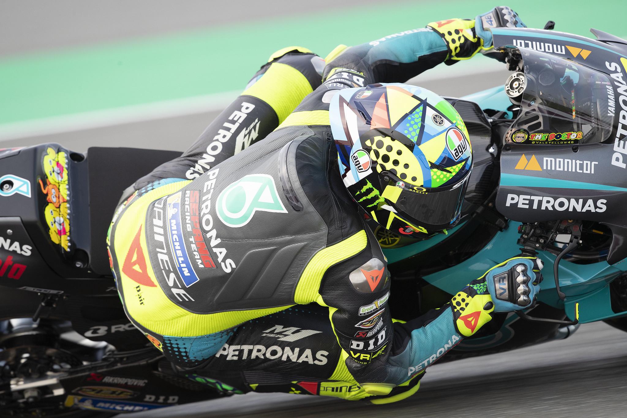 バレンティーノ・ロッシ「前回テストから加速時のトラクションが改善した」
