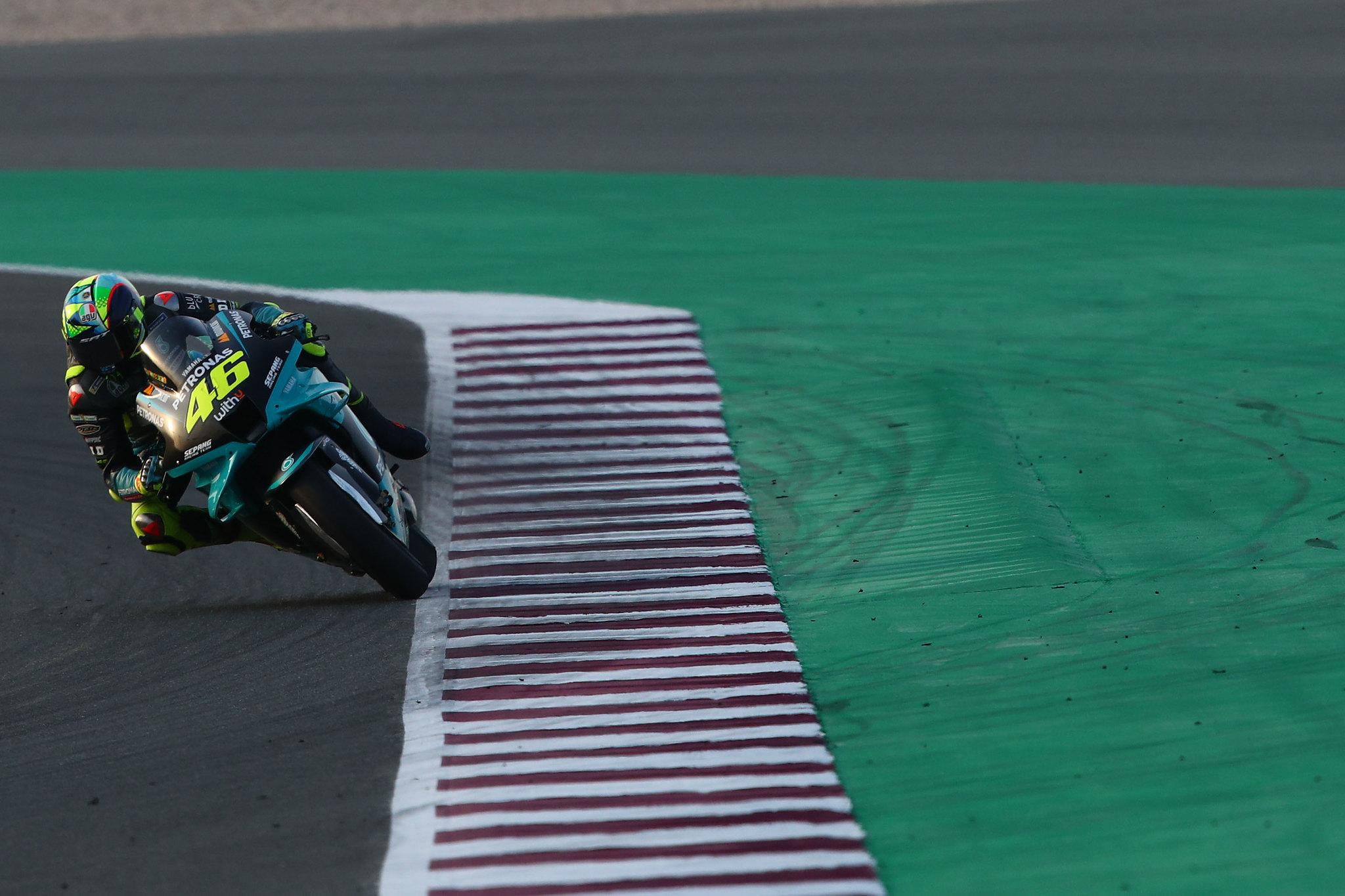バレンティーノ・ロッシ「カタールで初めて53秒台を記録出来た」