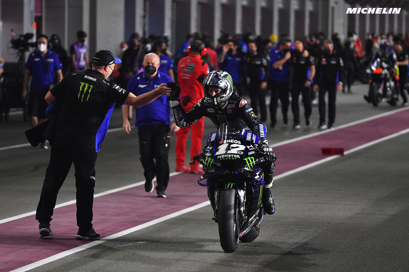 カタールGP優勝 マーべリック・ビニャーレス「強かったヤマハが戻ってきた」