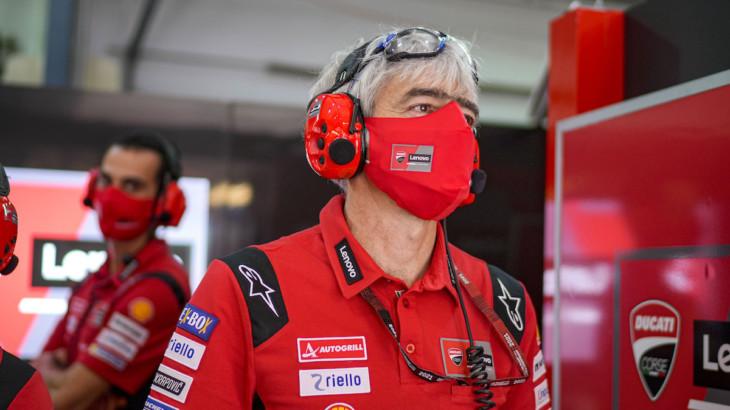Ducati ジジ・ダッリーニャ「2020年冬にDucatiテクニシャン達が行った作業は素晴らしかった」