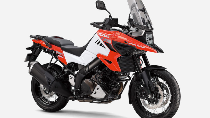 スズキ V-STROM(ブイストローム)1050、V-STROM 1050XTのカラーリングを変更して発売