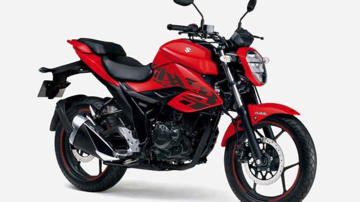 スズキ ロードスポーツバイク 「ジクサー」のカラーリングを変更して発売