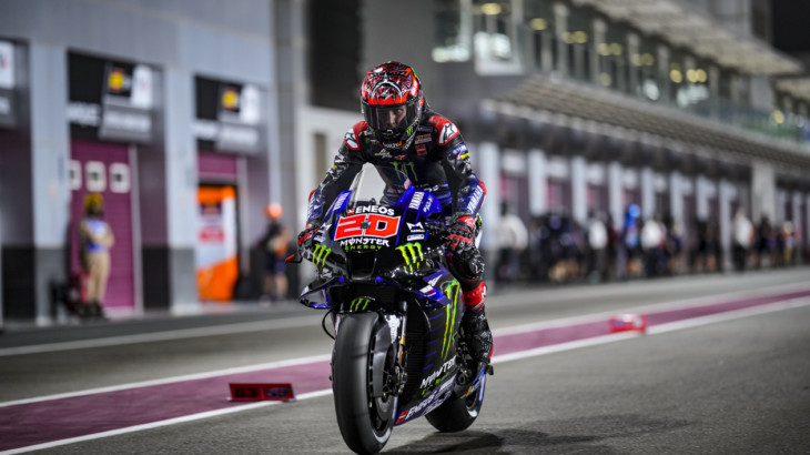 ファビオ・クアルタラロ「ヤマハのバイクは先頭で自分のペースで走行する必要がある」