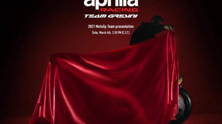 アプリリア・レーシング・チーム・グレシーニ 3月4日に2021年のチーム体制を発表