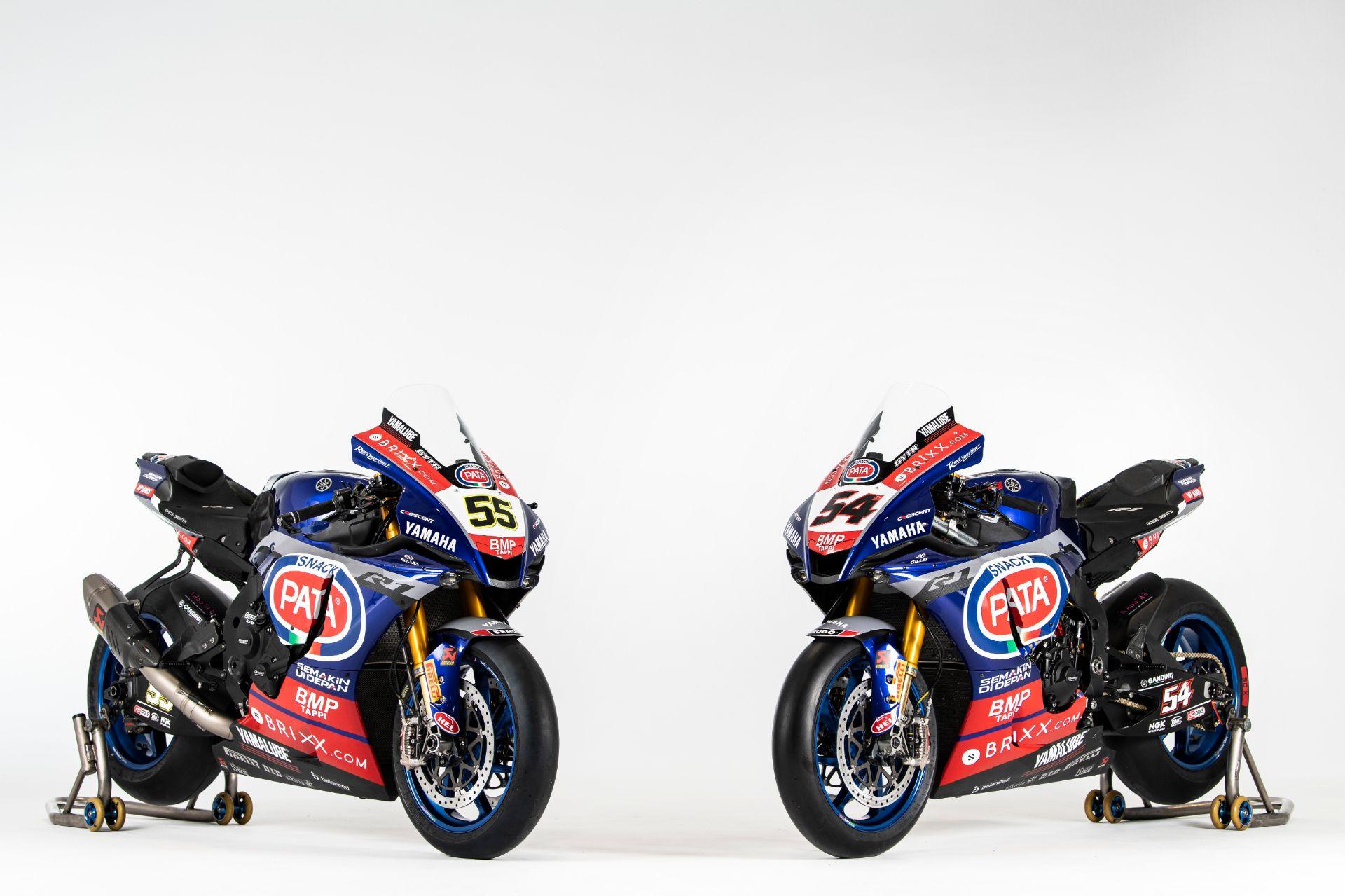 Pata Yamaha 新たにタイトルスポンサーBRIXXを迎え2021年に挑む