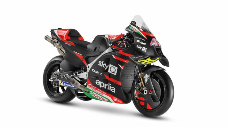 アプリリア 2021年のチーム体制、新型RS-GP 21を発表
