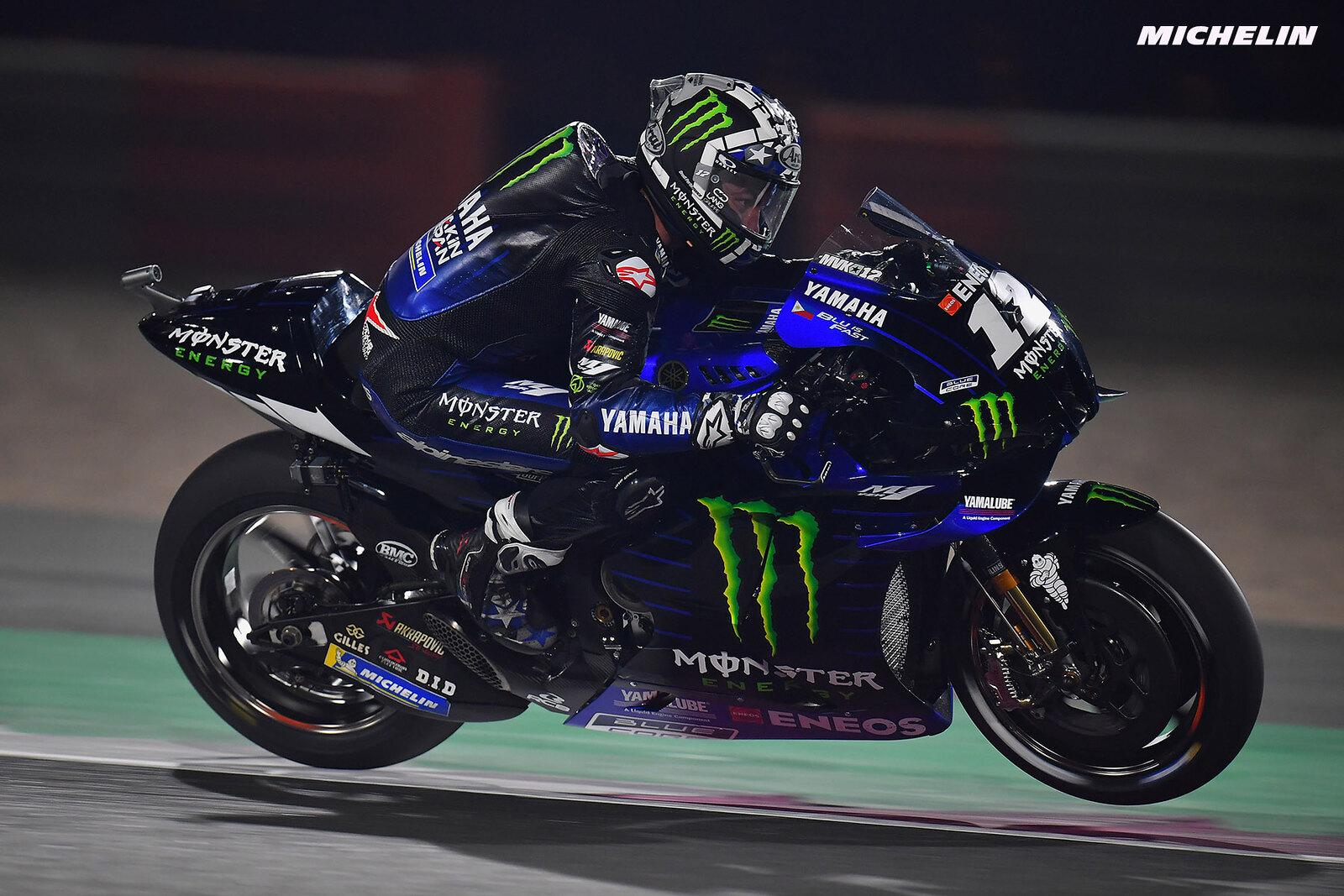 ドーハGP 予選3位マーべリック・ビニャーレス「レースは最後の10周で決まる」