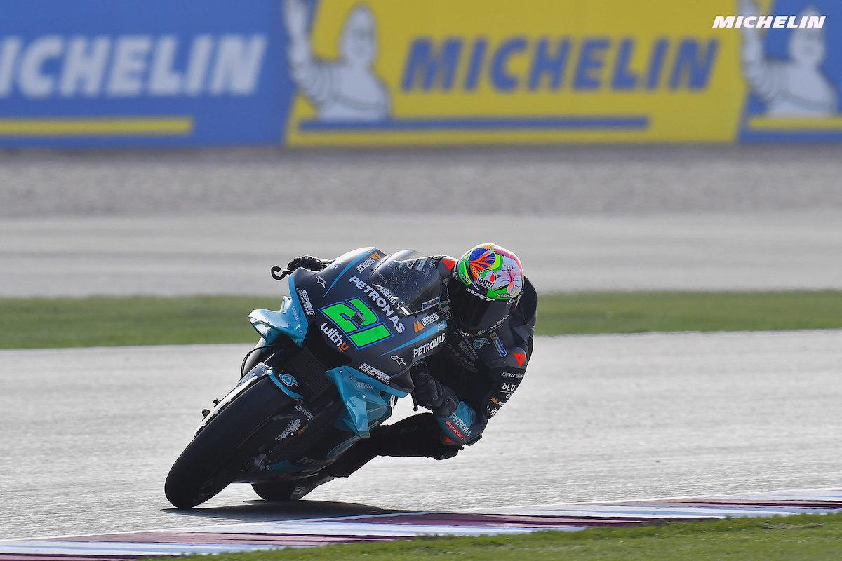 ドーハGP FP2 7位フランコ・モルビデッリ「FP1で2台のバイクに問題が発生した」