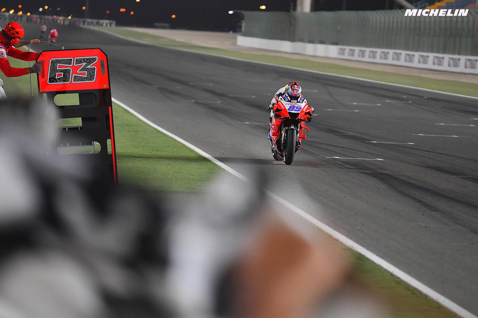 ドーハGP 予選ポールポジション  ホルヘ・マルティン「何日MotoGPバイクに乗っているかは関係ない」