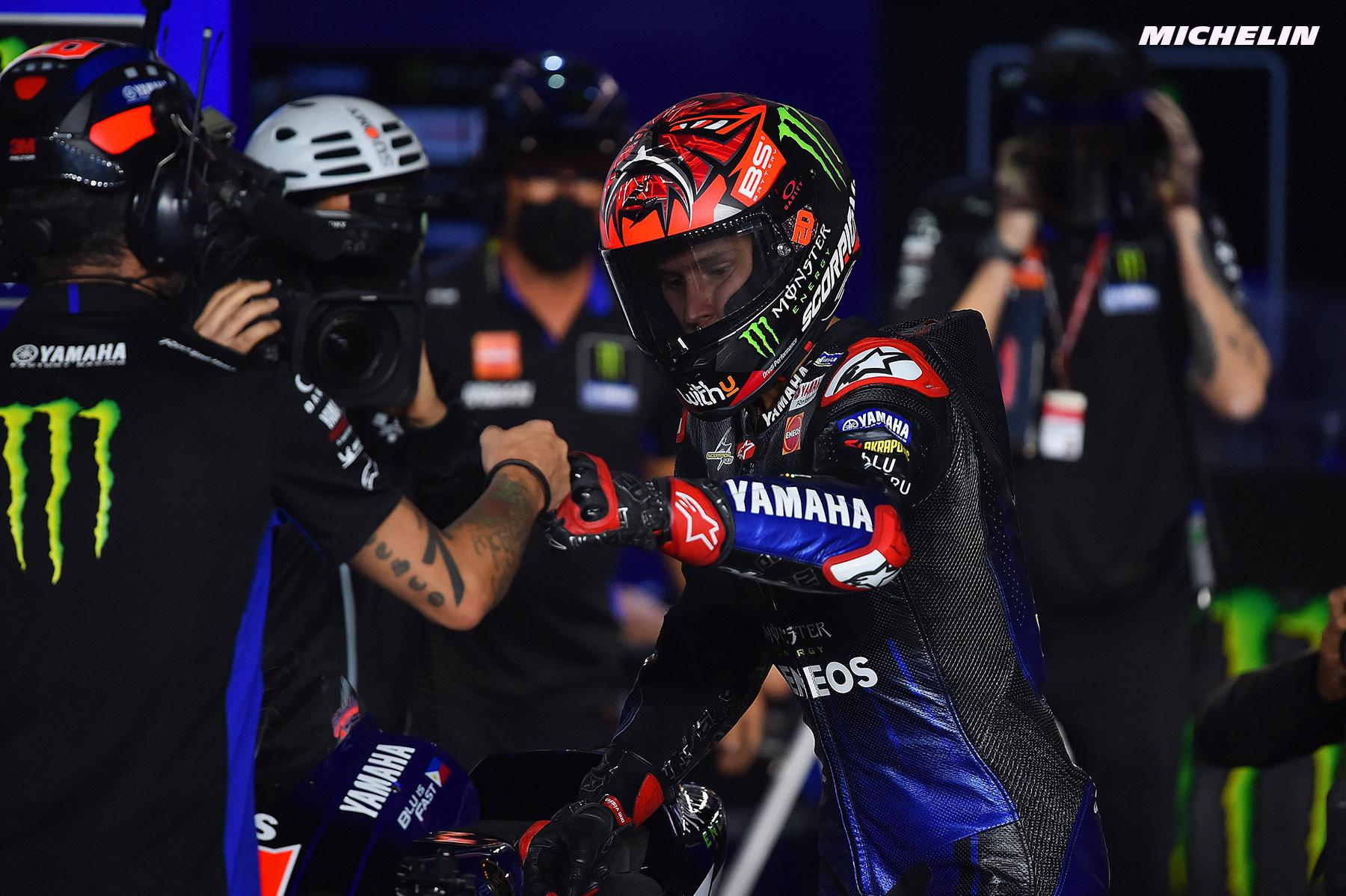 ドーハGP 予選5位ファビオ・クアルタラロ「ギアボックス変更が予選パフォーマンスに悪影響」